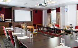 We have conference space for up to 65 delegates