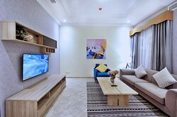 Living Room Of Two Bedroom Executive