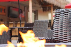 Only seasonal Tiki Bar in the area!
