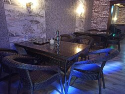"""Indoor area of the Cafe & Pub """"VIP"""""""