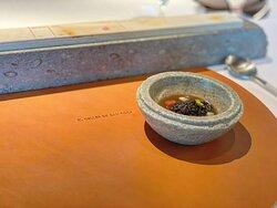 7-course tasting menu - amuse bouche