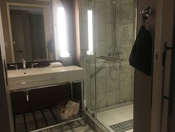 Room with shower only