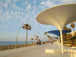Paseo Marítimo de Estepona, this is the New Look in Spring 2021