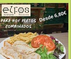 Platos combinados www.bocateriaelfos.com