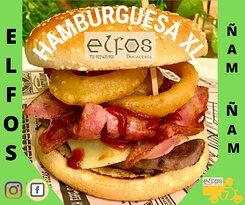 🍔 Si te digo XL en que estás pensando??? 😅 En esta fantástica hamburguesa con : ternera queso, bacon salsa barbacoa......Y cuántas cosas más?  🍔 Comienza el fin de semana dándote un gustazo👏👏👏  🍟 También en nuestras redes sociales de Facebook e Instagram donde verás la gran variedad de: bocatas, raciones, hamburguesas y postres exquisitos.🌭🍔🍲  📲 Siempre atentos a tu llamada para ofrecerte el mejor servicio a domicilio Tf: 927 42 19 01