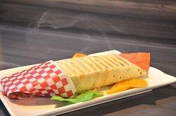 Presentación: Burrito Plato: Criollo