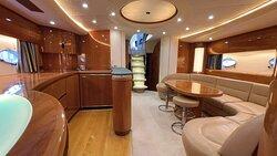 Princess V65 open motor yacht 6