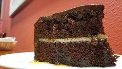Amaretto Chocolate Cake