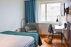 Scandic Sjofartshotellet Interior room standard queen