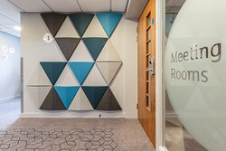 Meeting room entrance