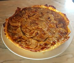 A nossa tarte de maçã