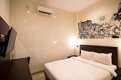 Hotel bagus  Mural dalam kamar Bersih dan tenang