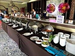 lunch buffet for Captain Bar's tournament
