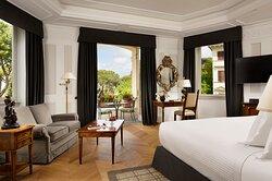 Junior Suite Terrace Bedroom