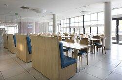 Buffet breakfast dining room