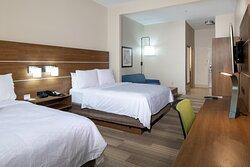 2 QUEEN BED SUITES WITH SOFA SLEEPER