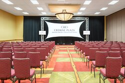 Theater style is perfect for your next big conference.