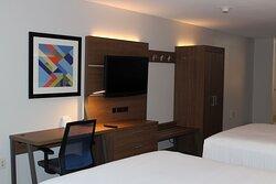 Guest Room Desk/TV unit