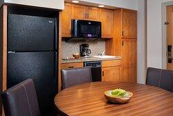One-Bedroom Smaller Villa - Kitchenette