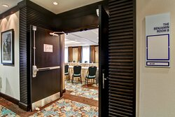 Our Benjamin Room can be used as One Space or Divided into Two