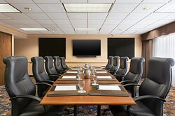 Our Boardroom is perfect for board meetings or small breakouts.