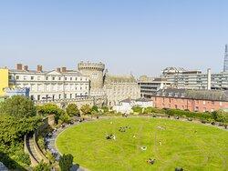Dublin Castle popular visitor destination within 15 minute walk