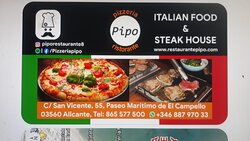 ITALIAN FOOD & STEAK HOUSE