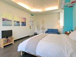 Room#202 山海景觀房-雅房 Room#202 Ocean View Room with Shared Bath