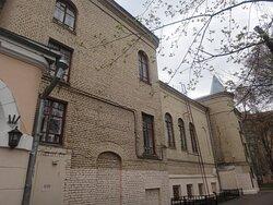 Фасад Особняка Высоцких