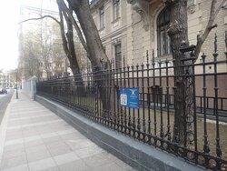 Ажурная ограда по переулку Огородная слобода
