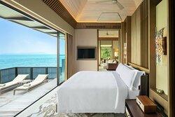 Ocean Front Villa - Bedroom