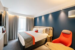 Enjoy a comfy night's sleep in our modern new bedrooms!