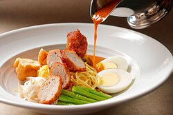 Latest Recipe - Spicy Curry Mee with Chicken Meatball