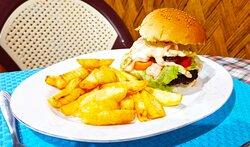 Our famous Rock en Roll Burger