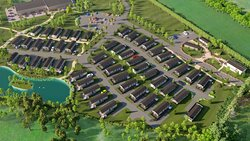 Mill Rythe Coastal Village - Phase 1 Plans - Aerial View CLOSE UP Images for illustrative purposes only