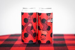 In the mood for some liquid black forest cake? Now on the webshop: Left Handed Giant Brewing Co. × Stillwater Artisanal Dot Matrix! 🍒🍦🍫🍦🍒 A 7.0% Black Cherry, Chocolate and Vanilla Stout. Roasty chocolate and cacao are intertwined with jammy cherry flavours and a rounded vanilla sweetness, creating a drinkable treat with a generous helping of decadence. Contains lactose. 🍪❤️ Shop all LHG online: https://shop.themutedhorn.com/tag:Left+Handed+Giant.