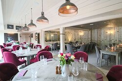 Our opulent Main Dining Room at The Meynell