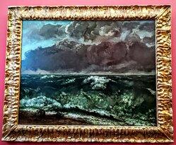 L'onda (la Vague) - Gustave Courbet