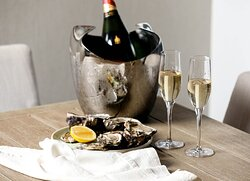 Champagne + Oysters