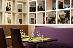 Join us for dinner in our contemporary Restaurant