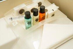 Executive Guest Bathroom Amenities