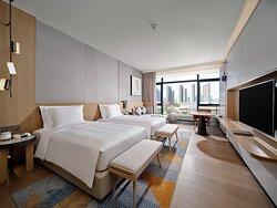 Wellness Deluxe Room Twin Beds
