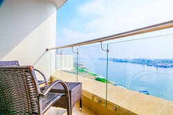 Two double bed with river view