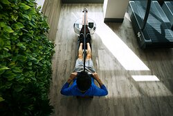 Rowing options available in our full-service Fitness Center