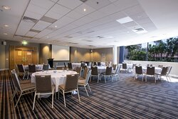 Phoenix room has an abundance of natural light and perfect to meet