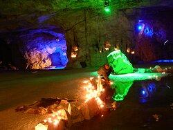 The Magic White Caves in Gudvangen