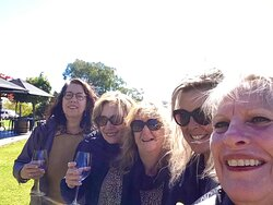 Selfies done right with the best teacher ! Footy, mice, wine, country roads, girls getaway , ...next stop Lightning Ridge!