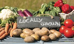USE LOCALLY GRAWN PRODUCTS TO SUPPORT LOCAL BUSINESS