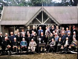 The Oldest Existing Photograph of HGC Members.1911.