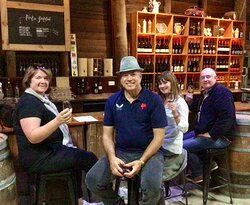 Last Stop for Clares's Fun 4 - At the Unique & Rustic  ....Peter Van Gent!     Full Day Tour in Mudgee April April 27th 2021